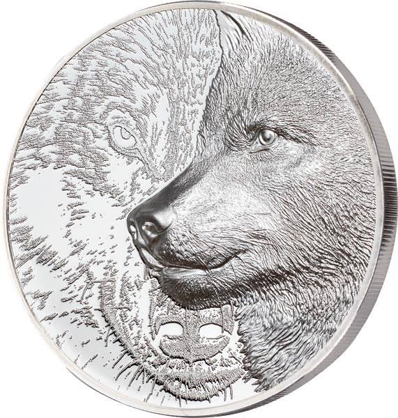 500 Togrog Mongolei Mystischer Wolf 2021