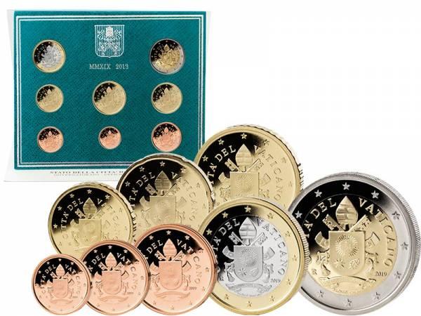 Euro-Kursmünzensatz Vatikan 2019