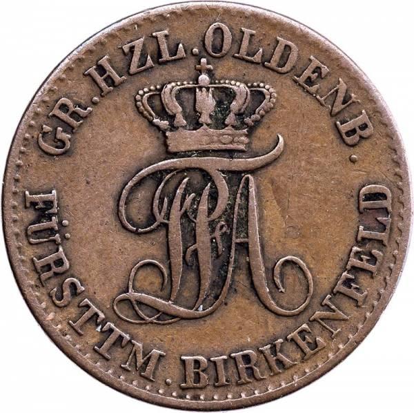 3 Pfennig Oldenburg Peter Friedrich August 1848