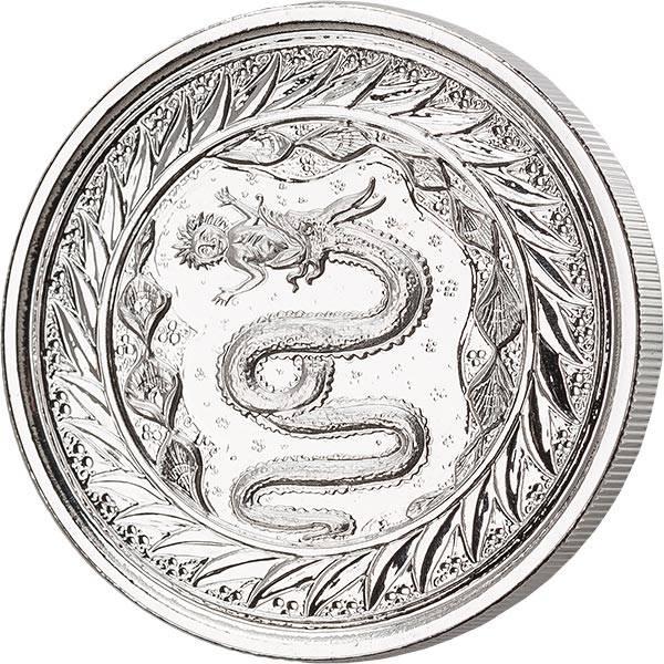 1 Unze Silber Samoa Schlange von Mailand 2020