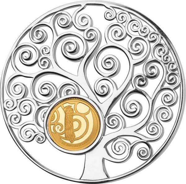 10 Dollars Barbados Symbols of Life Lebensbaum 2018