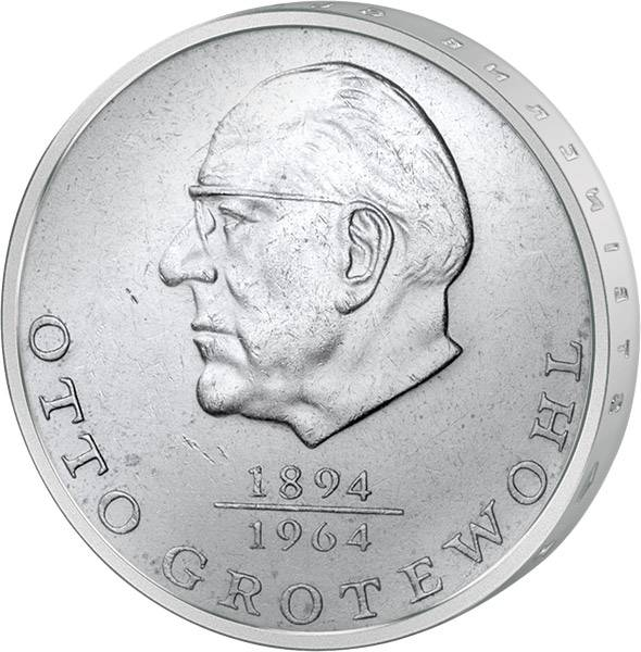 20 Mark  Otto Grotewohl 1973 A vorzüglich