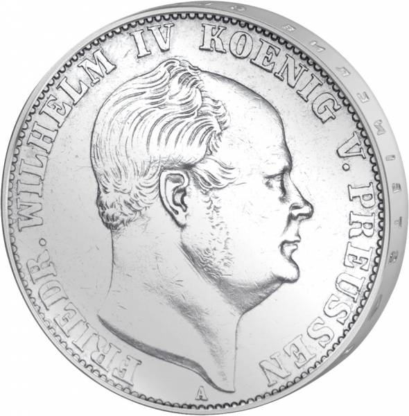 Taler Preußen König Friedrich Wilhelm lV. 1857-1860 ss-vz
