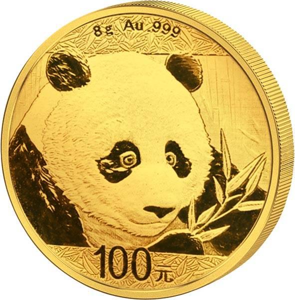 100 Yuan China Panda 2018