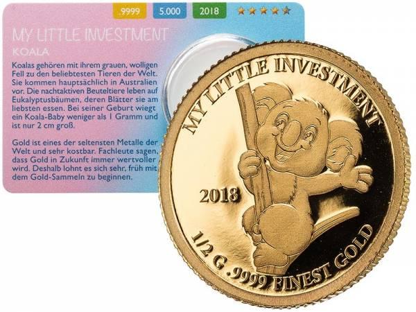 10 Dollars Salomonen My Little Investment Koala 2018 - FOTOMUSTER
