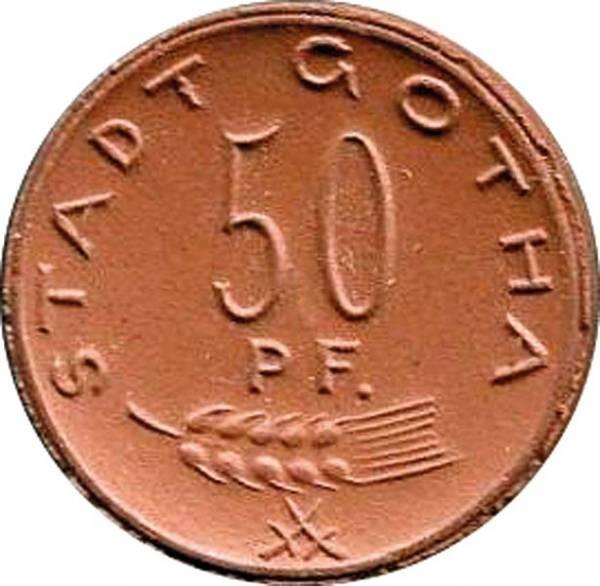 50 Pfennig Gotha 1921