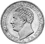 Taler Carl Friedrich 1841 Sehr schön