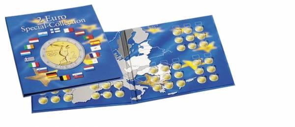 Münzalbum Euro-Collection für 57 x 2-Euro-Münzen 255 x 280 mm