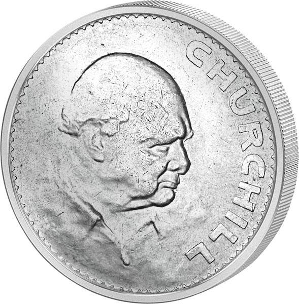 5 Shillings Großbritannien Sir Winston Churchill 1965