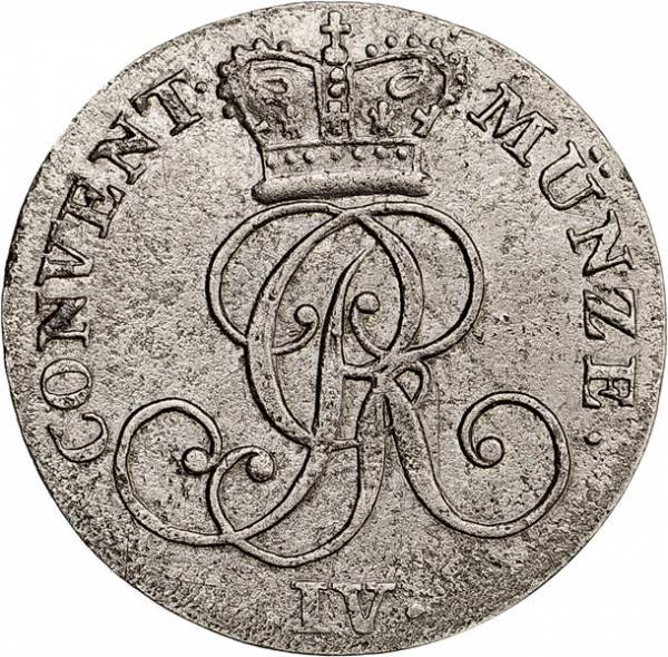 4 Pfennig Hannover König Georg IV. 1822-1828