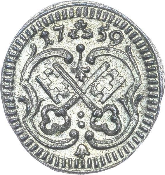 1 Pfennig Regensburg Freie Reichsstadt 1759