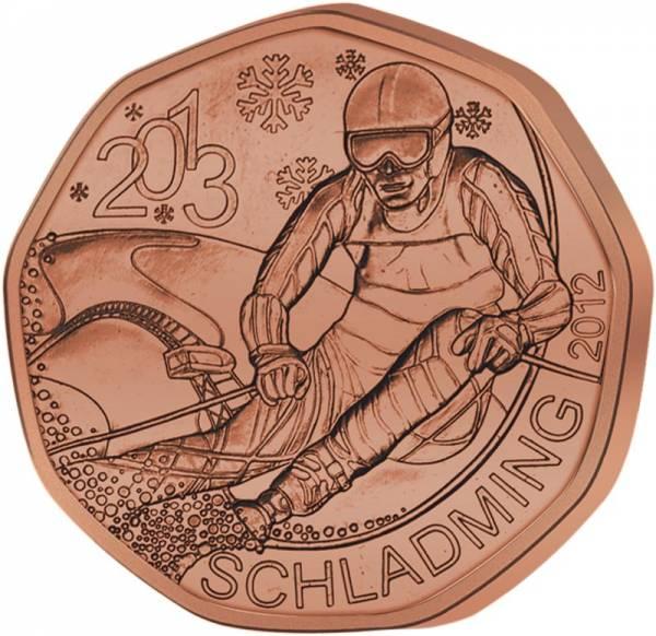 5 Euro Österreich Ski-WM Schladming 2013