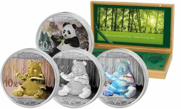 Silver Investment Coin Prestige-Set Panda 2017
