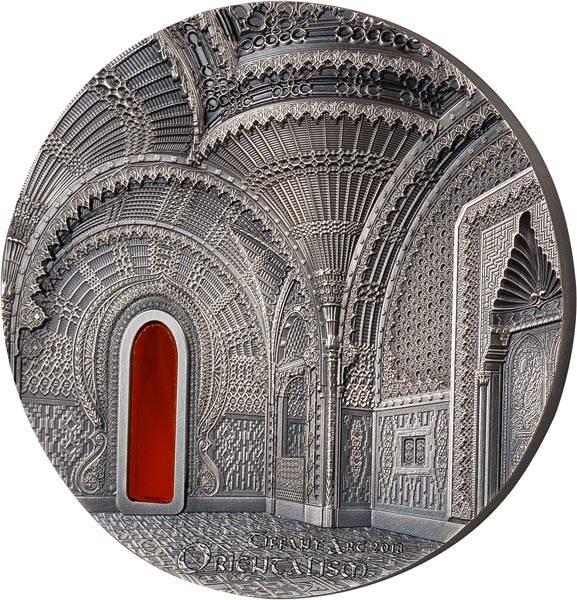 10 Dollars Palau Tiffany Art Sammezzano Castle 2018