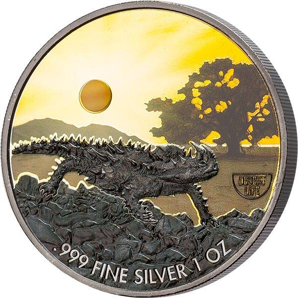 2 Dollars Niue Dornteufel 2020