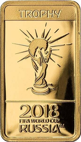 10 Dollars Salomonen FIFA Fußball WM Trophäe 2018