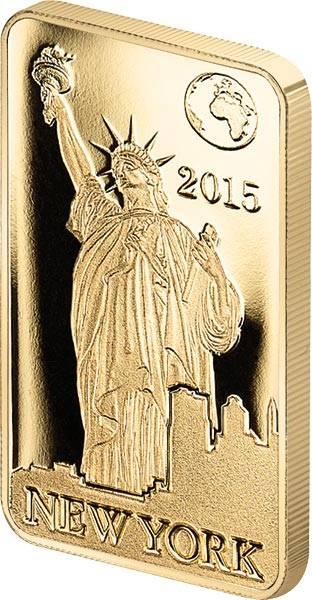 10 Dollars Salomonen New York Freiheitsstatue 2015