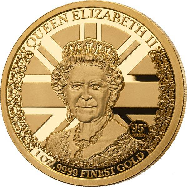 1.000 Dalasis Gambia Queen Elizabeth II. 2021