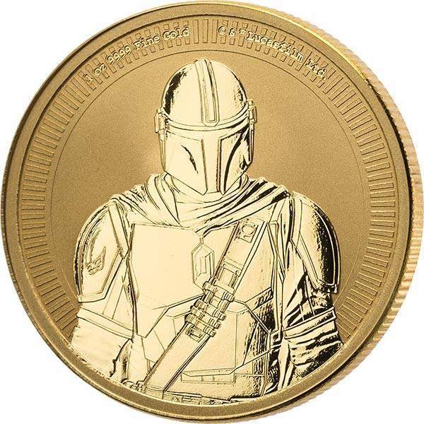 1 Unze Gold Niue Star Wars Mandalorian 2021