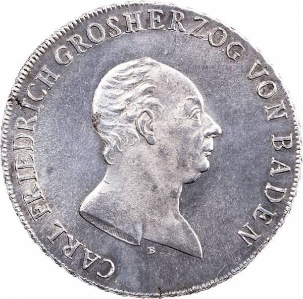 Konventionstaler Baden Großherzog Karl Freidrich 1810