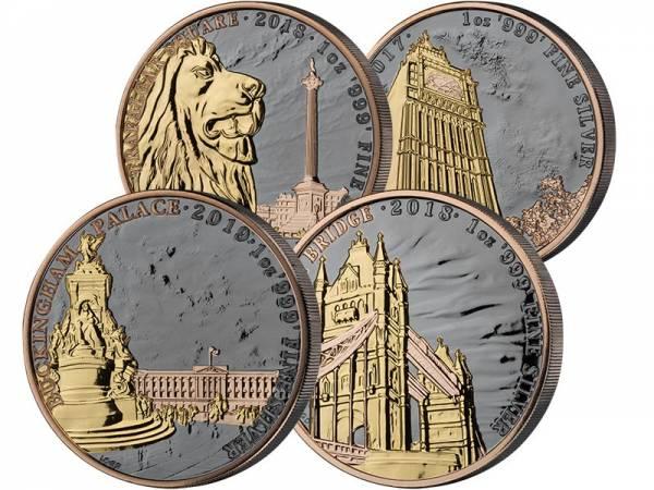1 Unze Silber Großbritannien Big Ben 2017
