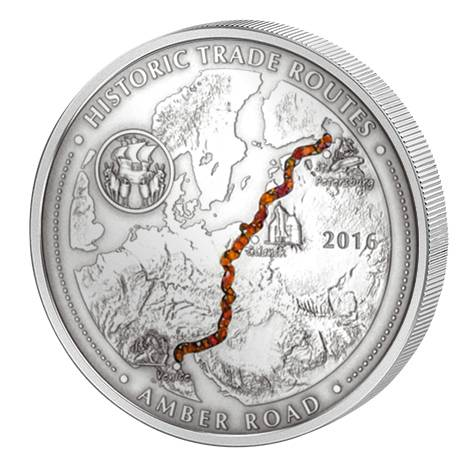 5.000 Francs CFA Kamerun Bernsteinstraße