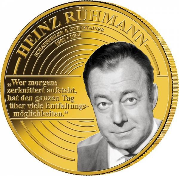 Gedenkprägung Heinz Rühmann