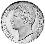 Taler Vereinstaler Wilhelm 1857-1864 ss-vz