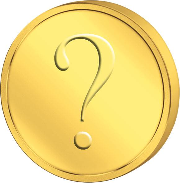 1 Gramm Goldmünze Motiv unserer Wahl