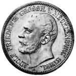2 Mark Mecklenburg-Strelitz Adolf Friedrich V. 1905 Vorzüglich