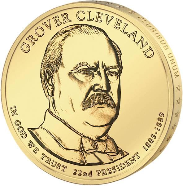1 Dollar  USA  Grover Cleveland  2012  Stempelglanz
