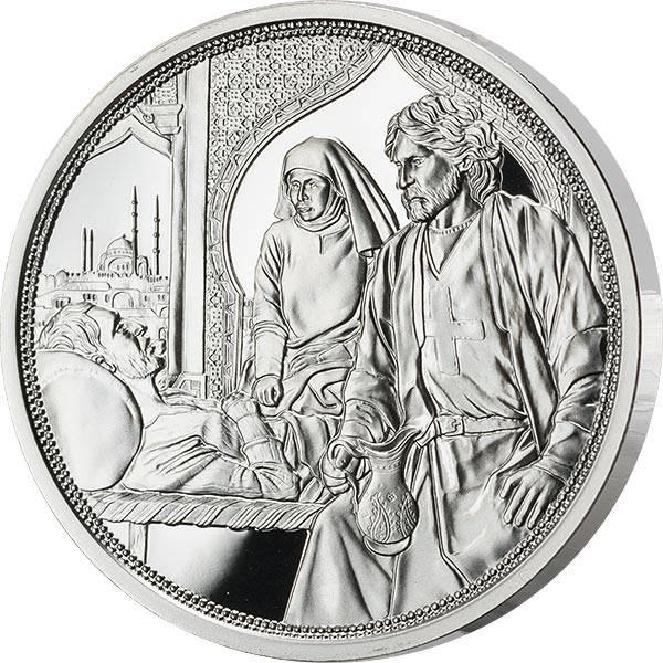 10 Euro Österreich Mit Kettenhemd und Schwert Brüderlichkeit 2021