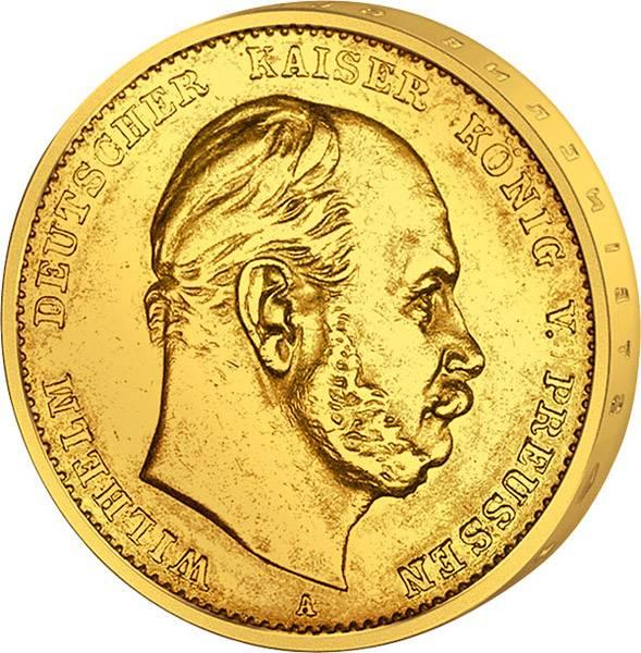 5 Mark Preußen Kaiser Wilhelm I. 1877-1878