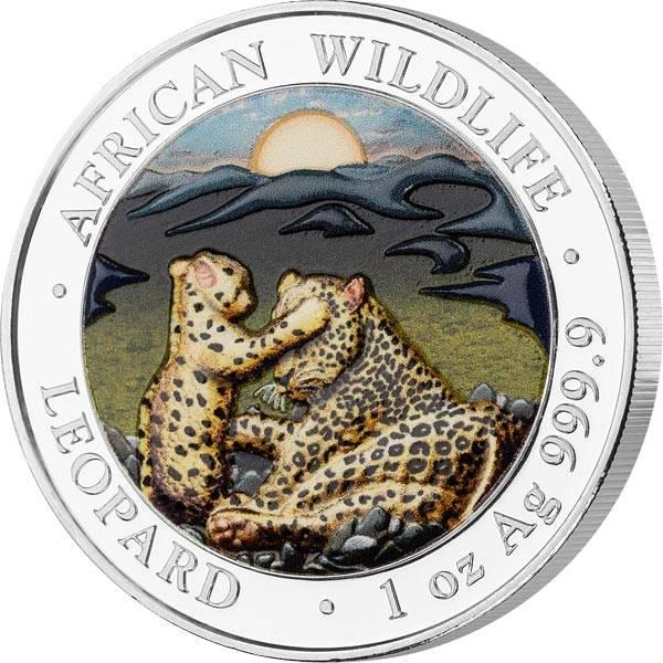 100 Shillings Somalia Leopard 2019