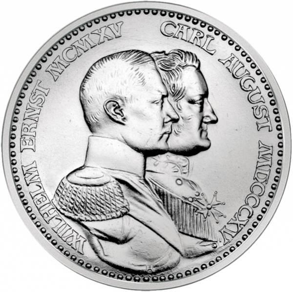 3 Mark Sachsen-Weimar-Eisenach zur Jahrhundertfeier 1915 Vorzüglich