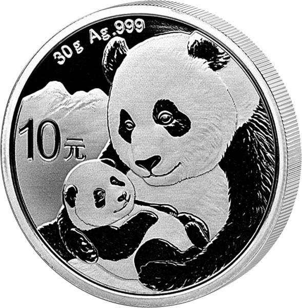 10 Yuan China Panda 2019