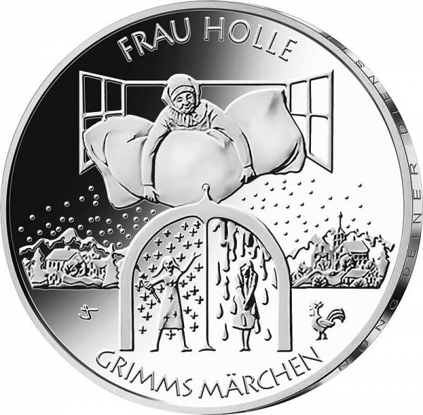 20 Euro BRD Frau Holle 2021
