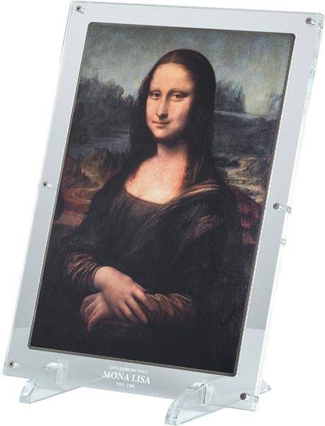 10.000 Francs Elfenbeinküste Giants of Art Mona Lisa 2017
