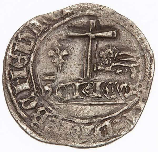 Blanc aux ecus Frankreich König Heinrich VI. von Lancester