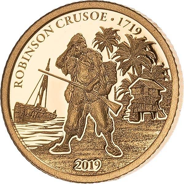 1 Dollar Fidschi Robinson Crusoe 2019