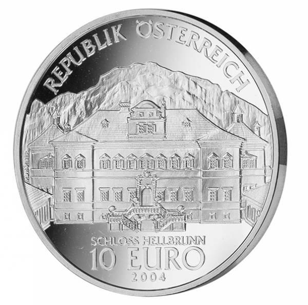 10 Euro Österreich Schloss Hellbrunn 2004