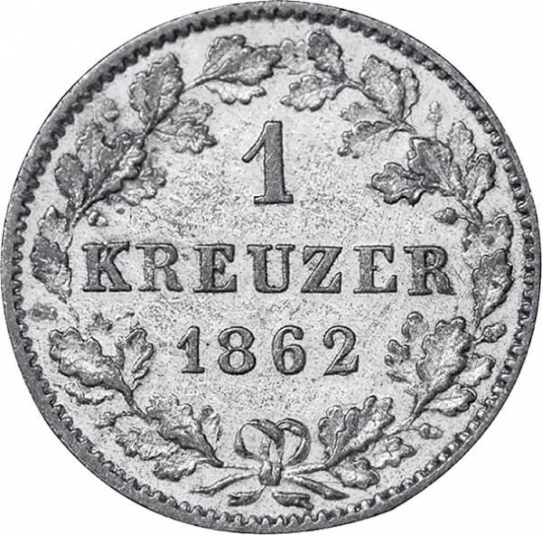 1 Kreuzer Württemberg König Karl