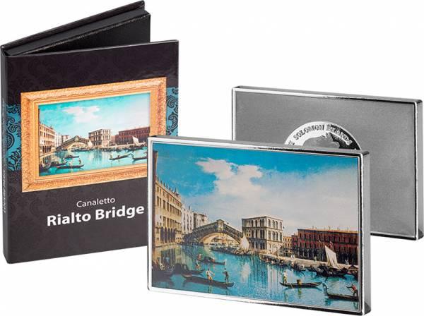 1/2 Dollar Salomonen Canaletto Rialtobrücke 2018