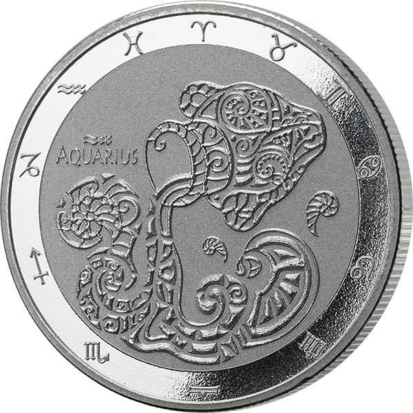 1 Unze Silber Tokelau Wassermann 2021