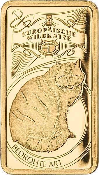 Goldbarren Bedrohte deutsche Tierarten Europäische Wildkatze