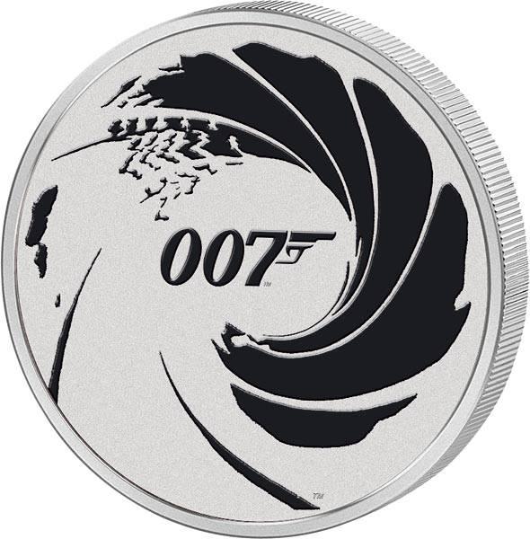 1 Dollar Tuvalu James Bond - No Time to Die 2022