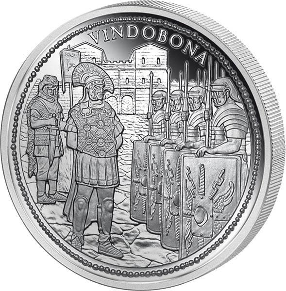 20 Euro Österreich Vindobona Rom an der Donau 2010
