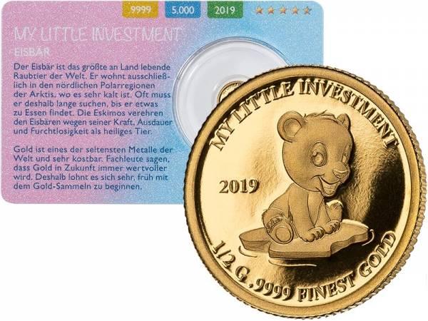 10 Dollars Salomonen My Little Investment Eisbär 2019