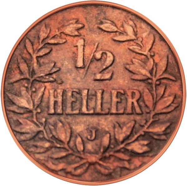 1/2 Heller Deutsch Ostafrika Kronenwappen 1904-1906 Sehr schön