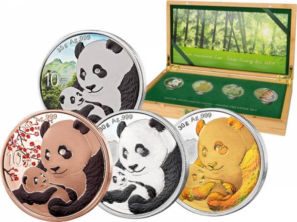 Silver Investment Coin Prestige-Set Panda 2019